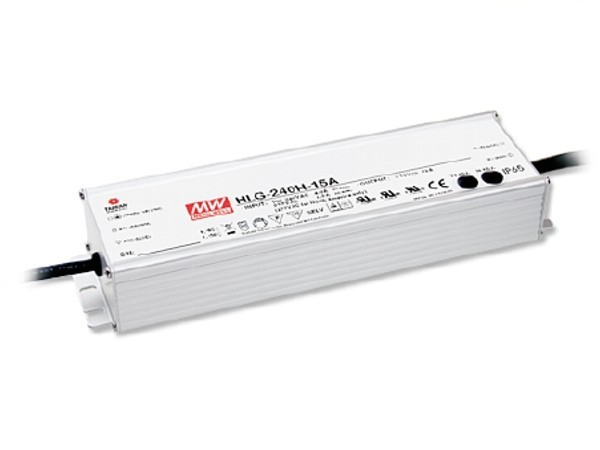HLG-240H-12A Outdoor-Netzteil IP65 12V / 192W / TÜV