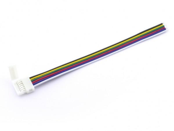 LC-6 LED Stripe Anschluss-Adapter 6-polig