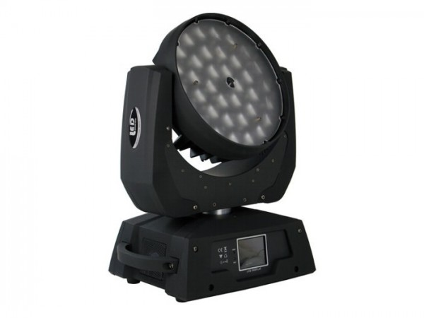 LED MH368ZW Moving Head Wash 36x8W RGBW 14 DMX-Kanäle Zoom