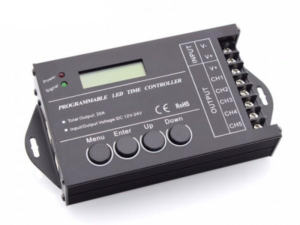 SR-TC420 LED Timer Controller 24h 5x4A