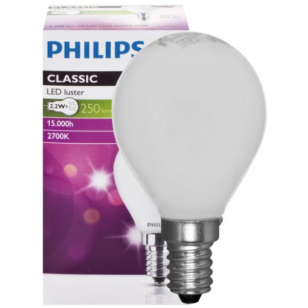 LED Leuchtmittel Kugel matt, 4,3W, 470lm, 15.000h
