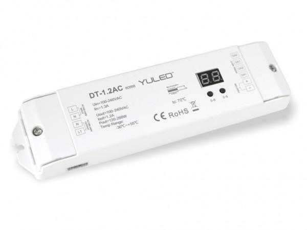 DT-1.2AC DALI Controller 1,2A 100 - 240V Push Dim