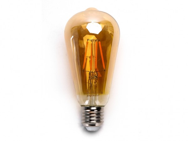 LED Filament Leuchtmittel E27 Edison 4W 2200K Gold