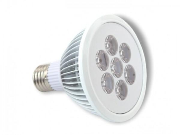 LED Leuchtmittel PAR30 7x2W 3000K 30° E27 910lm/m