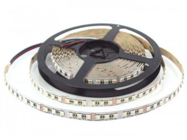 LED Flex Stripe UHP 6m RGBW-XC 96x 4-in1 LEDs/m RGB+kaltweiss 24V White-PCB