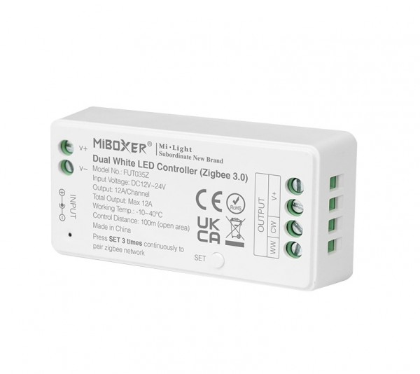 MI-036Z Zigbee 3.0 Dimmer-Controller 2,4GHz max. 12A DC12~24V