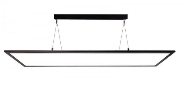 Pendelleuchte LED Panel transparent