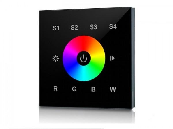 SR-2812BBS RF LED Touchcontroller (RGBW) Funk+DMX 868MHz S1-S4 Direktspeicher