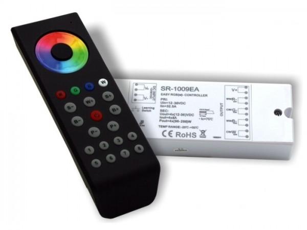 SR-1100SET LED Controller Komplett-Set 4x8A inkl. SR1100MKII FB Schwarz