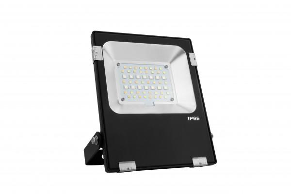 LED RGB-CCT Fluter 20W Funk 230V 1800lm IP65