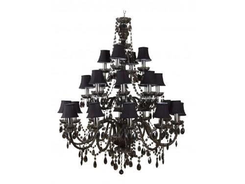 romeo 24t design kronleuchter 24 arme schwarz everen led and light solutions. Black Bedroom Furniture Sets. Home Design Ideas